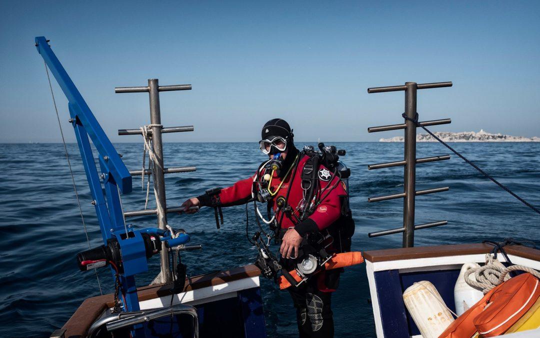 Duplex sous-marin en préparation
