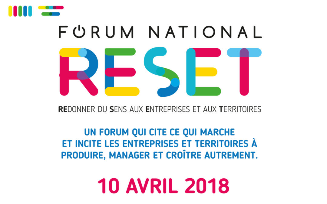Le 10 avril le Forum Reset Marseille