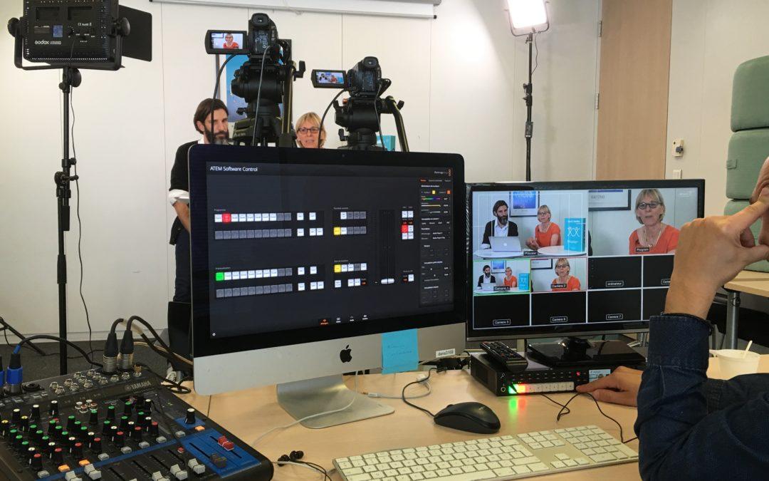 Une formation «régie vidéo» pour l'Anact de Lyon