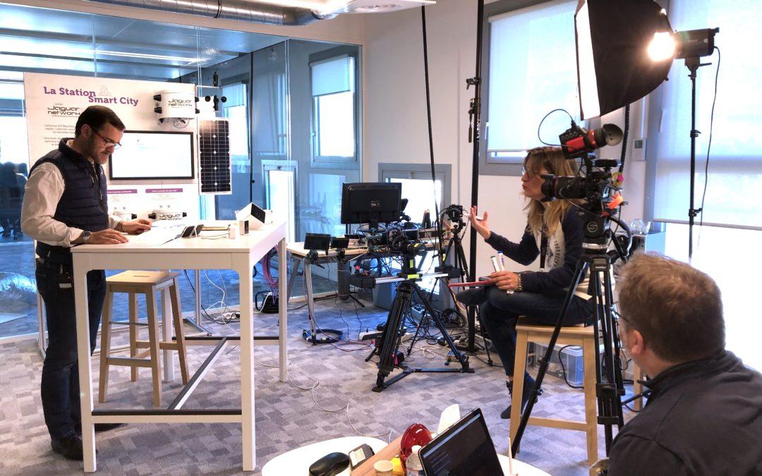 Le premier tournage au Studio