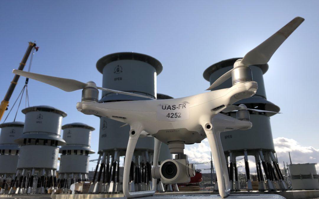 ça drone du coté d'Iter