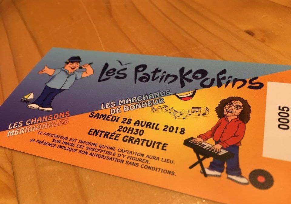 Les Patinkoufins en concert !