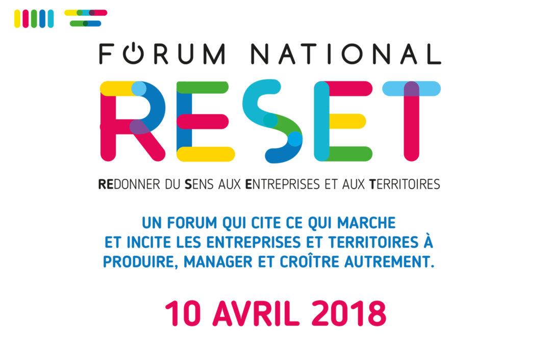 Le 10 avril le Forum Reset Marseille