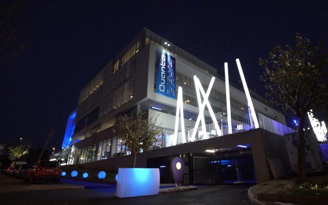 Inauguration de Quanta, le premier « smartbuilding »