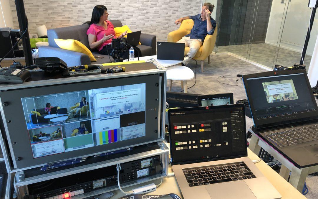 Webinaire Webikeo au studio