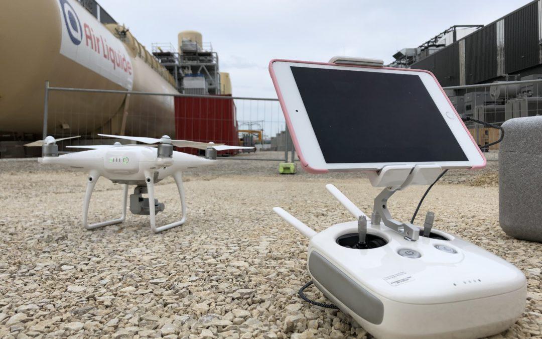 Mission Drone sur Iter